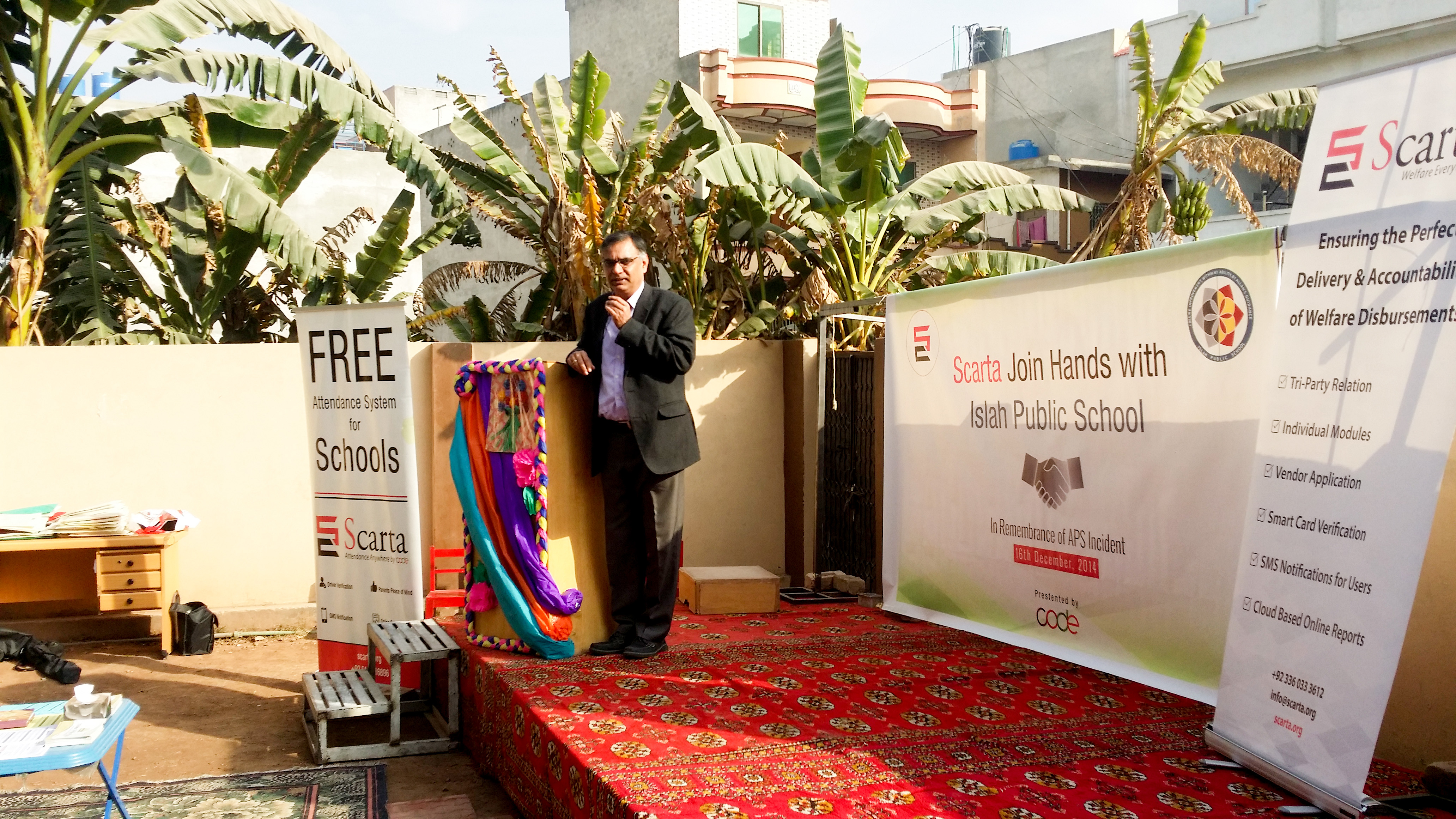 Speech of Chief Guest from Oxfam