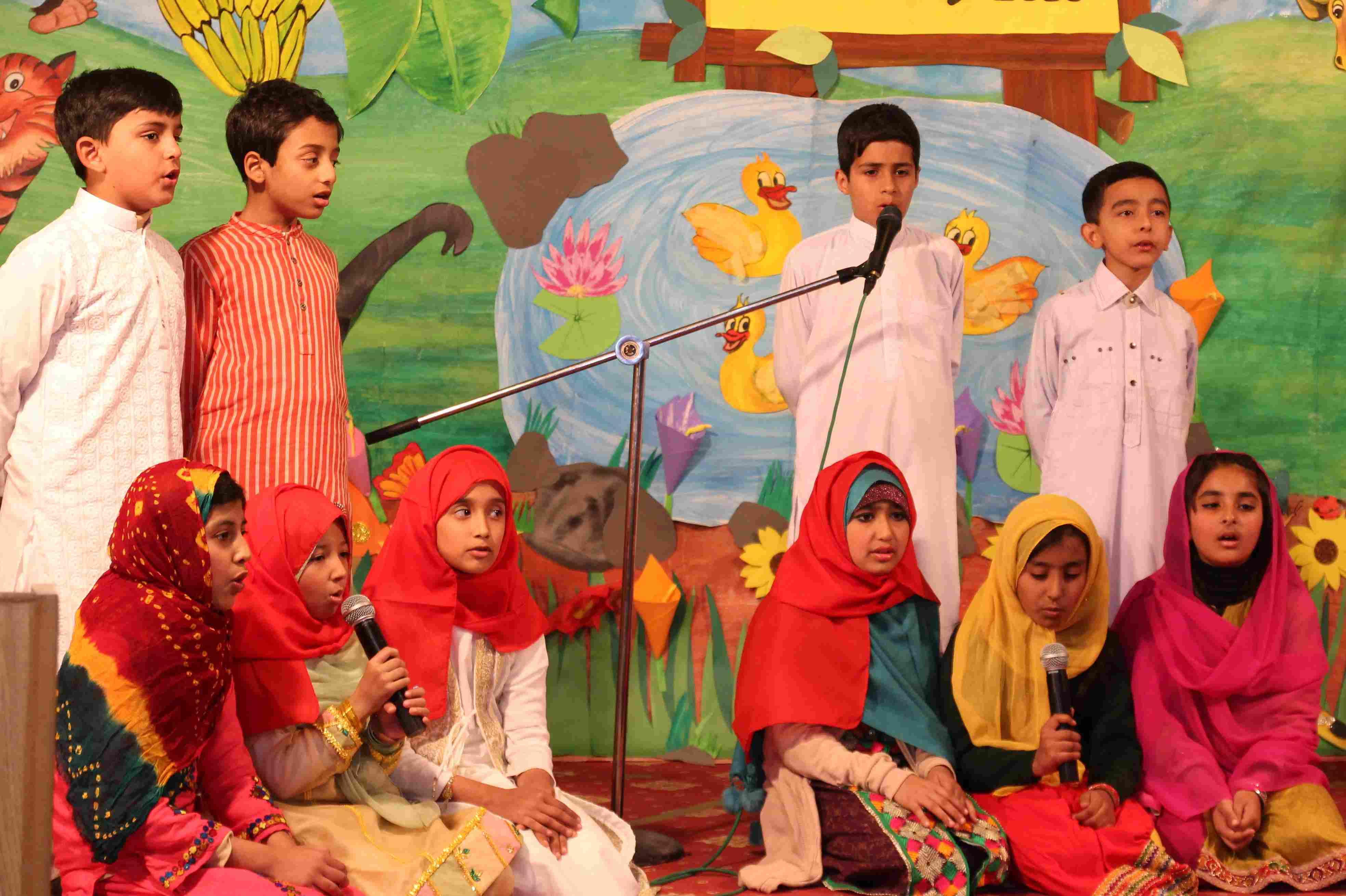 Arabic Poem 'Ghuraba' by Class 3, 4 & 5