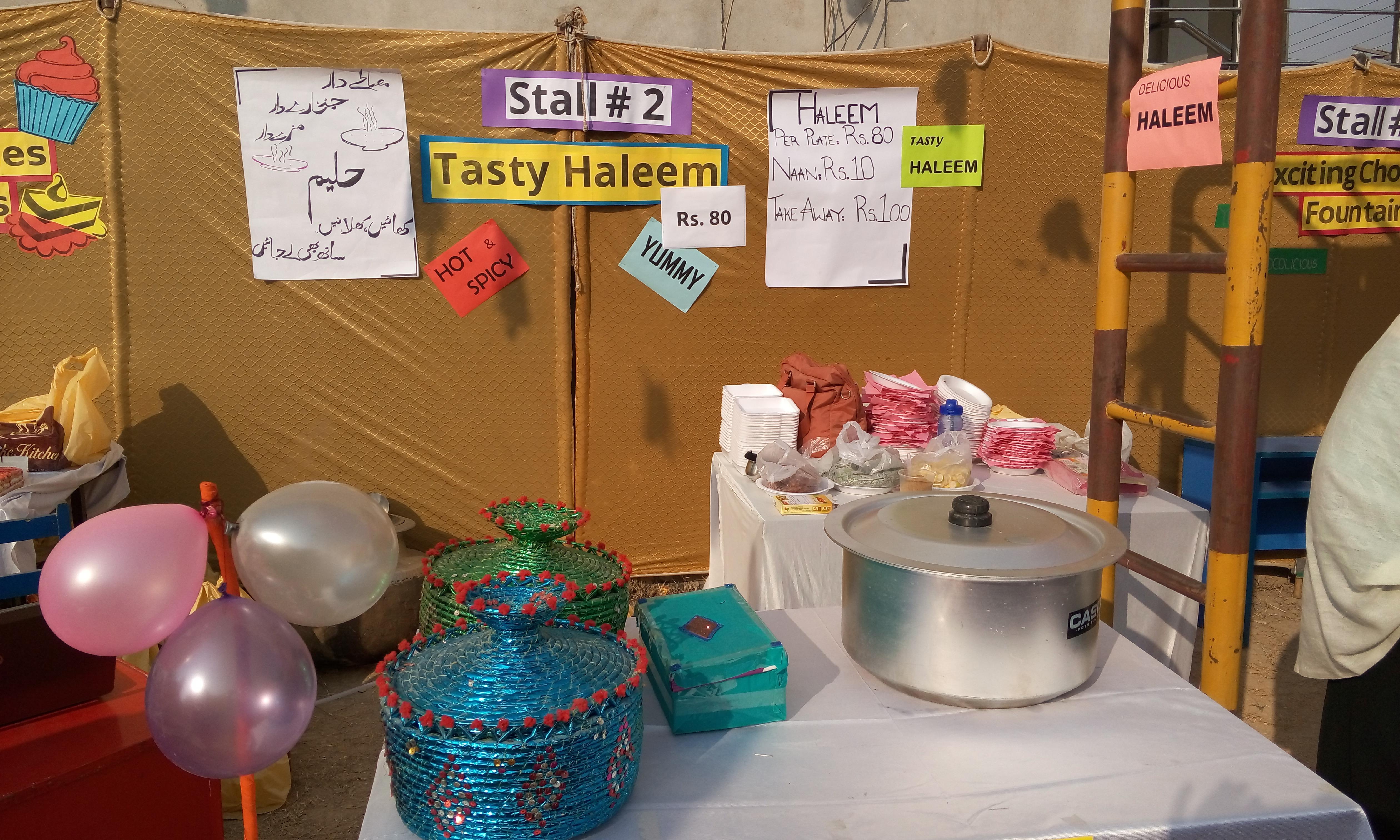 Stall 2 - Tasty Haleem