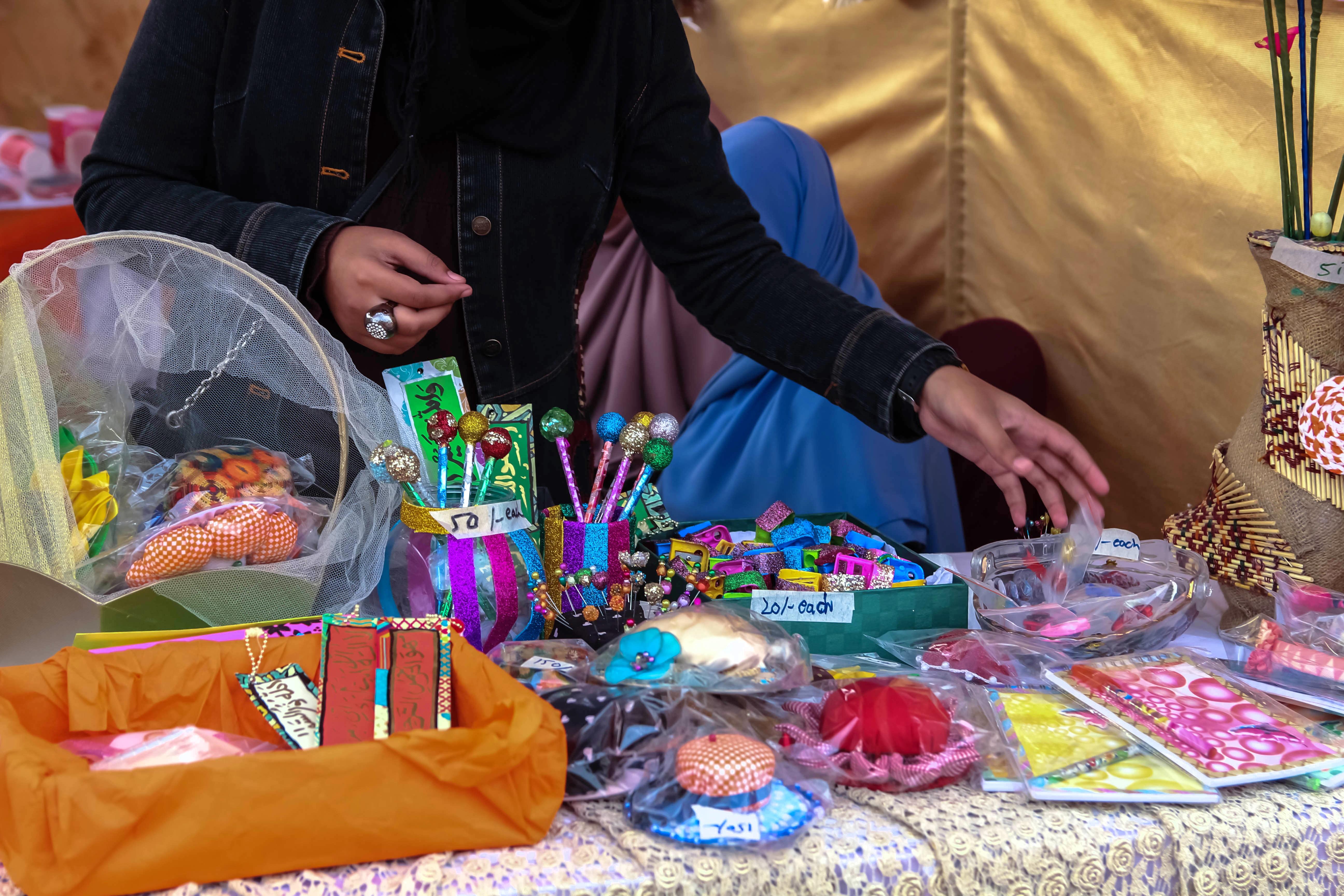 Handicrafts by Islah School - 2