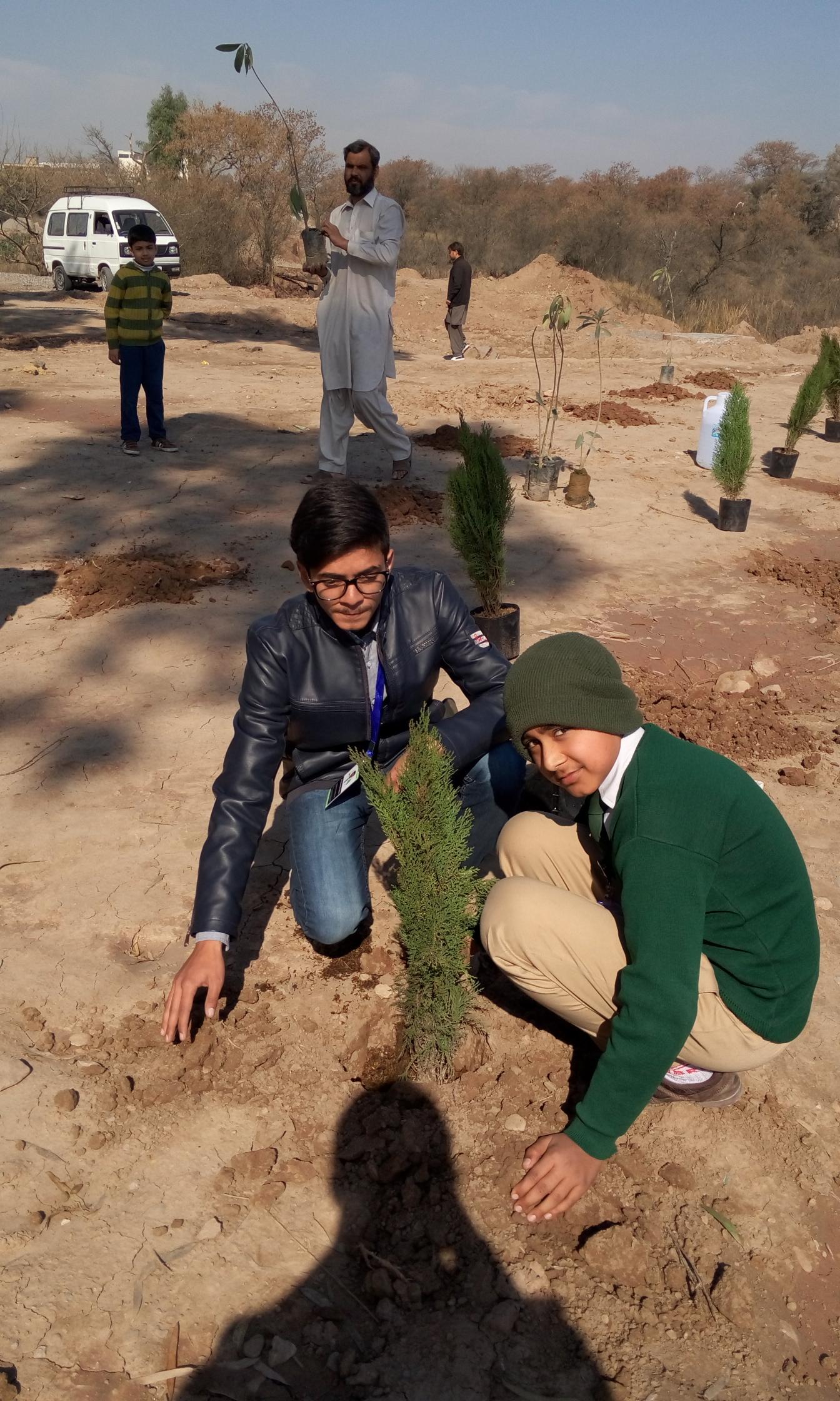Plantation by Abdul Rehman Awan of Hifz Class