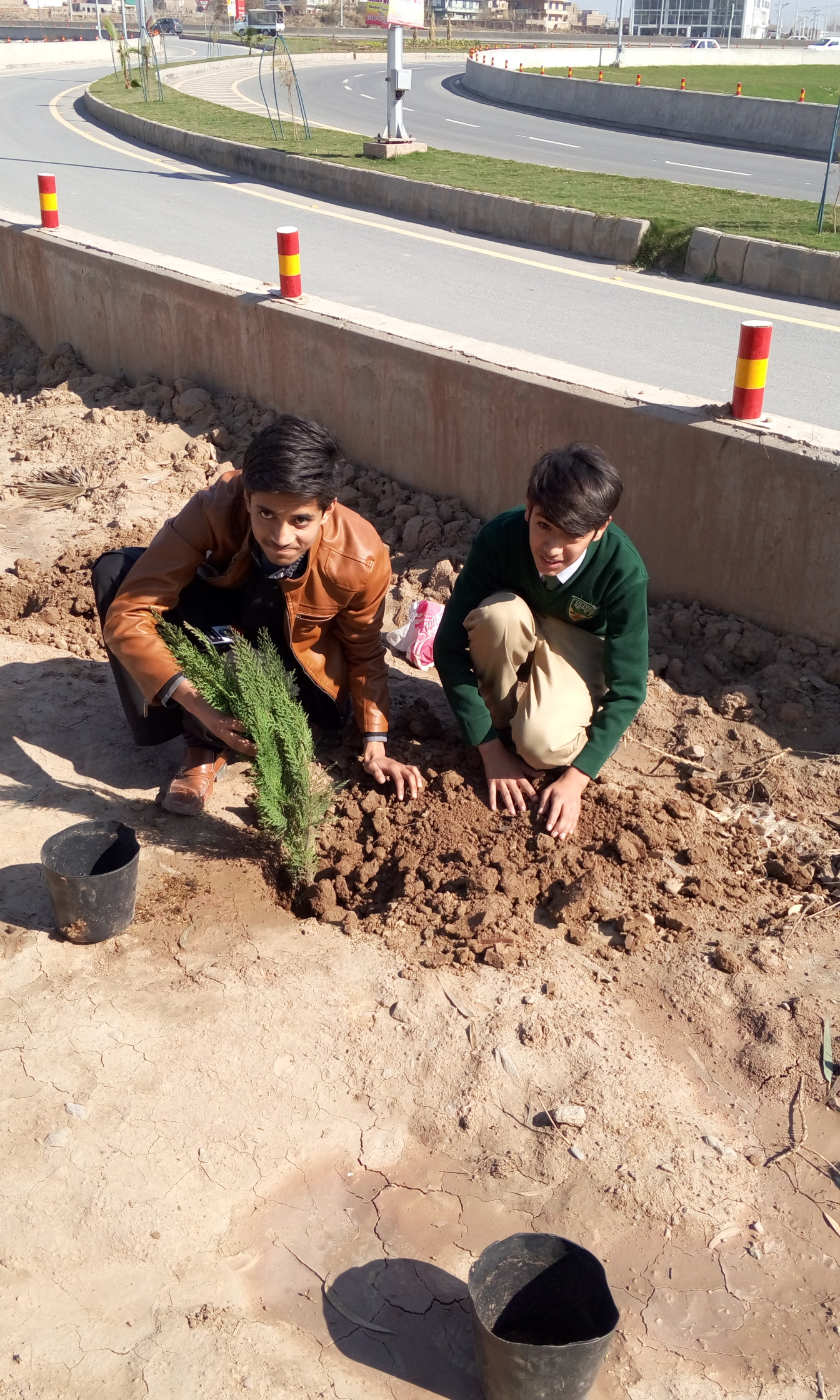 Plantation by Suffian Ali Rabbani of Class 7