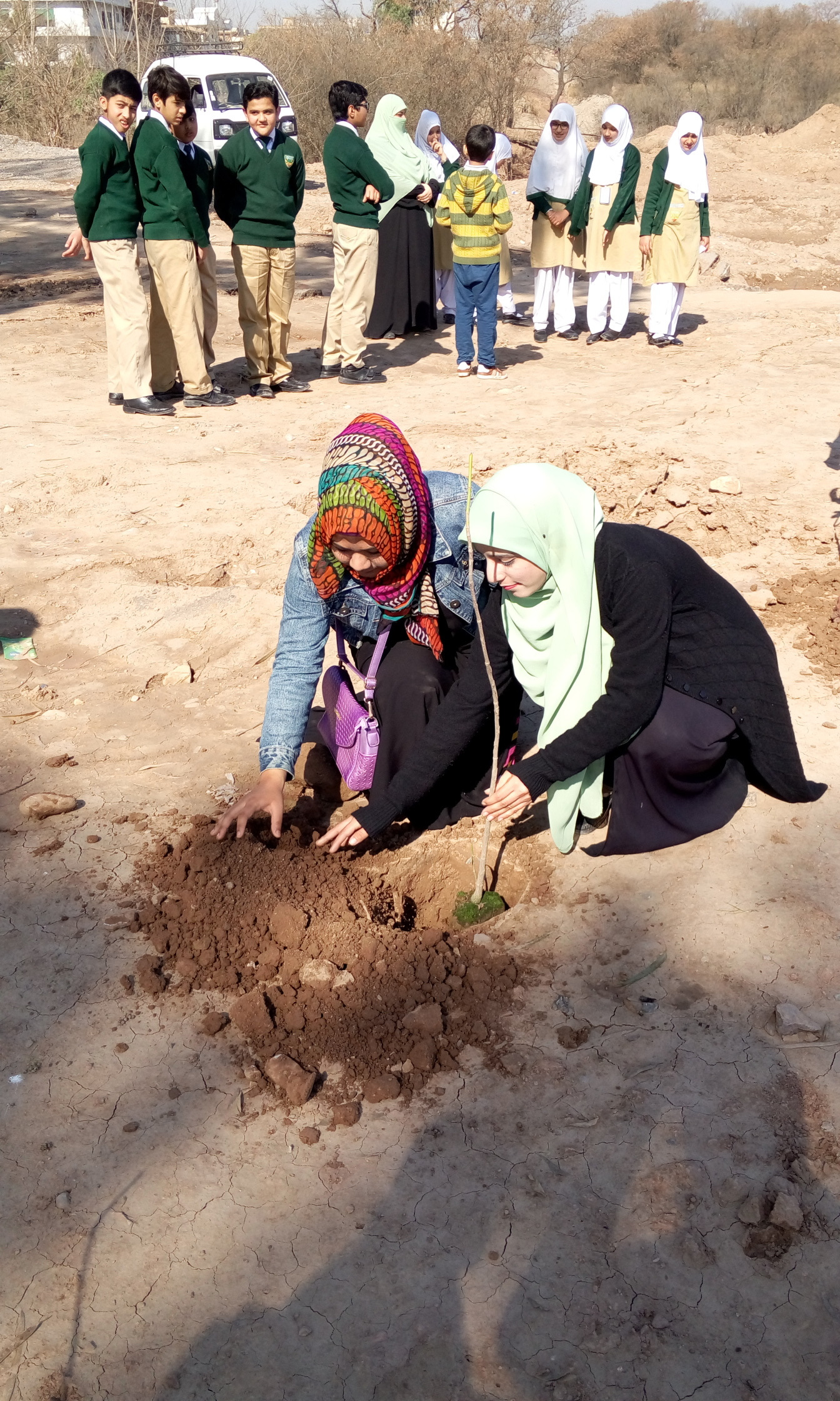 Plantation by Teacher Ambar Ashfaq