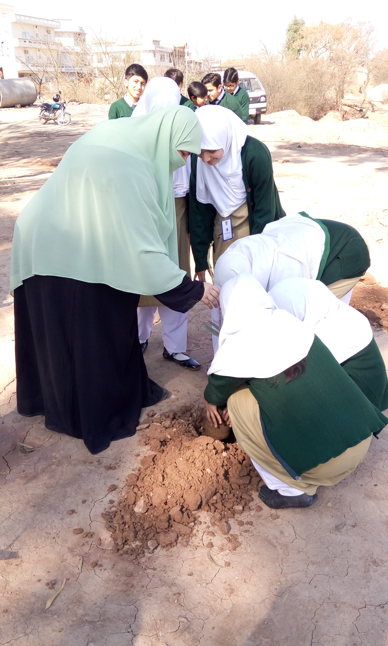 Plantation by Teacher Ayesha Rafiq