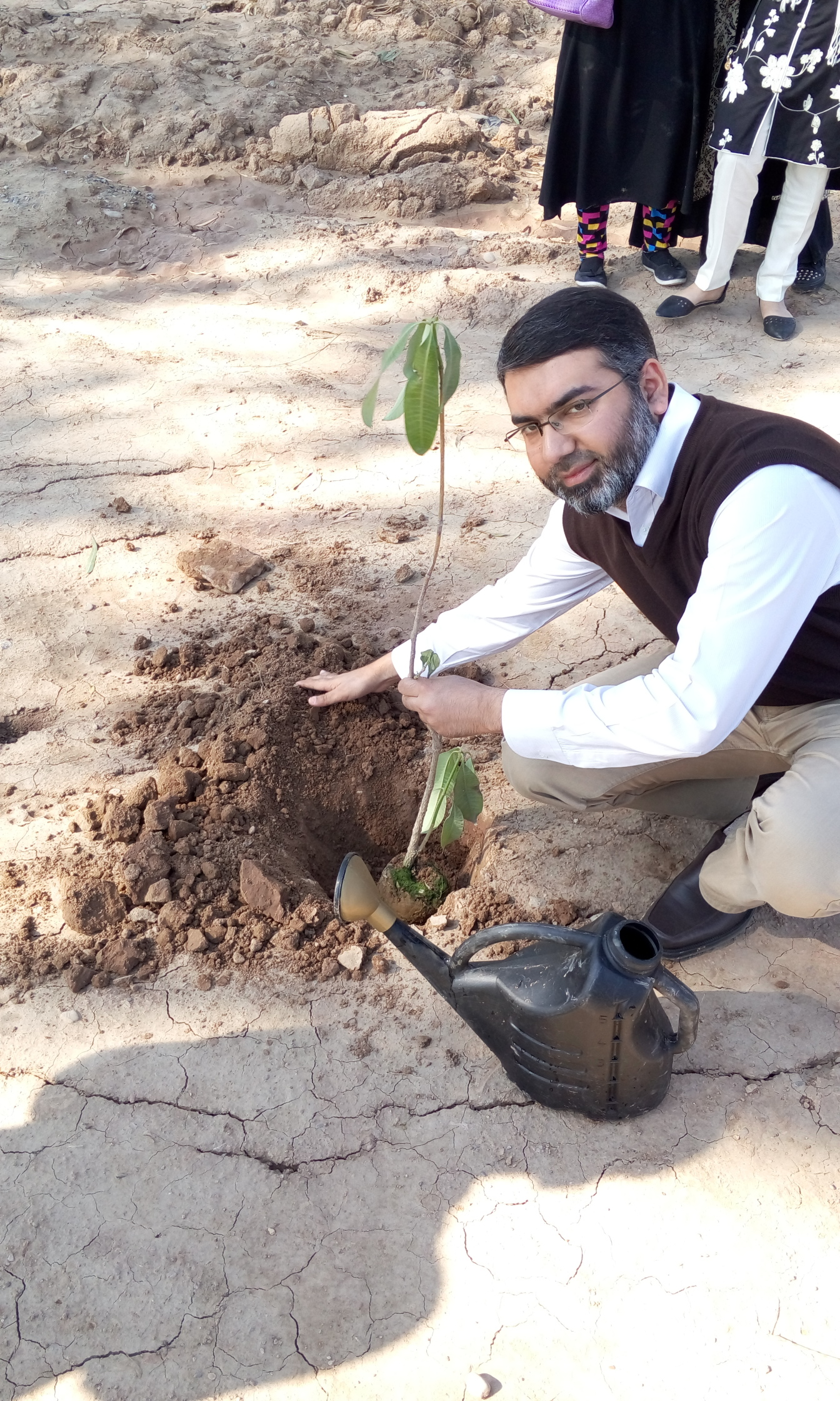Plantation by Finance Director M. Ahmad Zafar